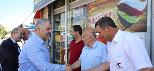 """Başkan Çelik, """"Bünyan'a son 4 yılda yapılanlar, 50 yılda yapılanlardan fazla"""""""