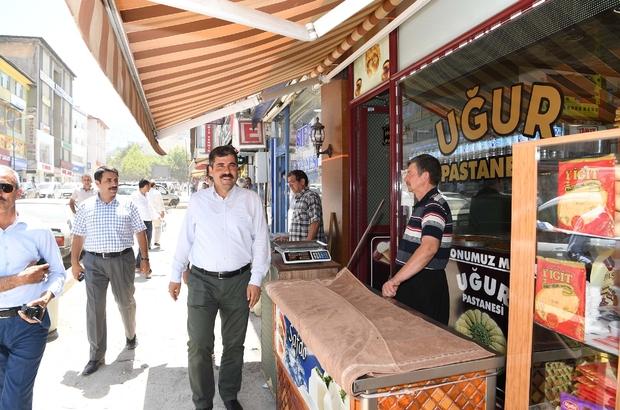 Başkan Asya'dan esnaf ziyareti