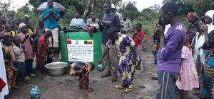 Heybe İnsani Yardım Derneğinden Benin'e su kuyusu