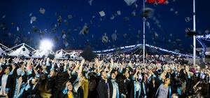 Ömer Halisdemir Üniversitesinde mezuniyet coşkusu
