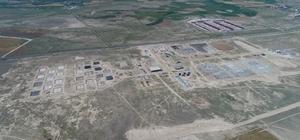 Aksaray'a 519 milyon TL'lik en yüksek güvenlikli cezaevi kampüsü Aksaray'da yapımı devam eden en yüksek güvenlikli 6 adet kapalı, 1 adet açık olmak üzere toplam 7 adet cezaevi havadan görüntülendi