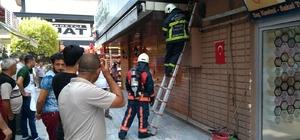 Küçük çaplı yangın vatandaşı meraklandırdı