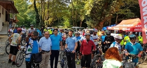 3. Düzce Uluslararası Bisiklet Festivali startı verildi
