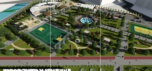 Sungurlu'da kent park projesi start alıyor