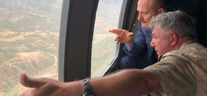 İçişleri Bakanı Soylu, Tunceli'de güvenlik kulesini ziyaret etti