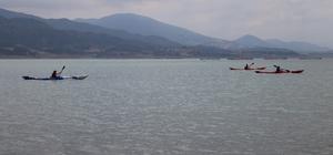 Tokat'ta düzenlenen deniz kanosu yarışması tamamlandı