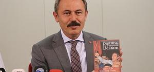 """Milletvekilinden """"Denizli'de 15 Temmuz Destanı"""" kitabı"""