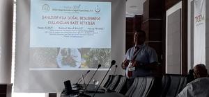 Şanlıurfa'da beslenmede kullanılan doğal bitkiler uluslararası kongrede tanıtıldı