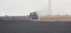Yozgat'ta tarla yangını