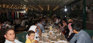 Hakkari'de şehit aileleri ve gaziler yemekte buluştu