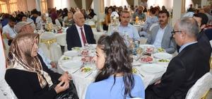 Gazi ve şehit yakınları 15 Temmuz yemeğinde buluştu
