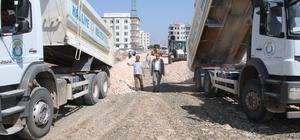 Kırsal bölgelerde yeni yollar açılıyor