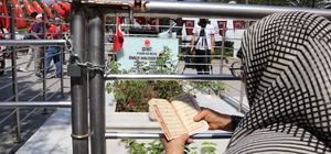 Şehit Halisdemir'in kabrinde ziyaretçi yoğunluğu