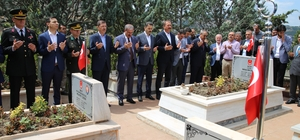 Tokat'ta 15 Temmuz etkinlikleri şehitlik ziyareti ile başladı