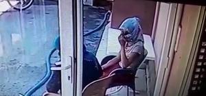 Kadın kılığında iş adamının evine giren 3 kişi kameralara yakalandı