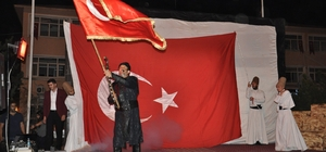 Bulanık'ta 'Biz Biriz, Bir Ölür Bin Diriliriz' tiyatro oyunu