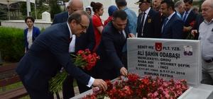 15 Temmuz şehitleri anıldı Ordu Valiliği tarafından Garnizon Şehitliğinde anma programı gerçekleştirildi