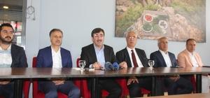 """AK Parti'li Yılmaz: """"Bunlar millet düşmanı, milli irade düşmanı ve dış odakların maşası yapılanmalar"""""""