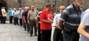 15 Temmuz Demokrasi ve Milli Birlik Günü'nde şehitler için mevlit okundu