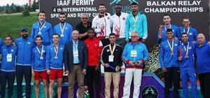 4'ncü Uluslararası Sprint ve Bayrak Kupası'nın ilk gününde Türkiye 15 madalya kazandı