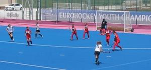 Açık Alan Avrupa Hokey Şampiyonası Konya'da başladı