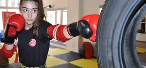 Manisalı Milli sporcu Rabia Ercan, Ömer Halisdemir için ringe çıkacak