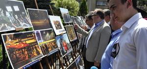 """Afyonkarahisar'da """"15 Temmuz Destanı"""" fotoğraf sergisi"""
