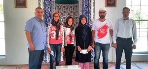 Hisarcık'ta Kur'anı Kerim-i yüzünden güzel okuma yarışması düzenlendi