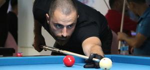 Kütahya'da özel bilardo turnuvası sona erdi