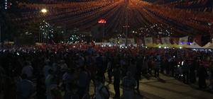 Gaziantep'te 15 Temmuz kutlaması başladı
