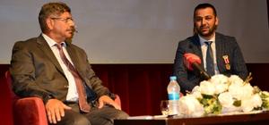 """Bartın'da """"15 Temmuz İhaneti ve Milletin Zaferi"""" konferası"""