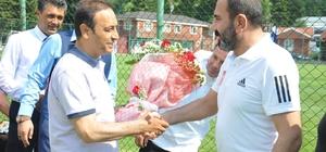 Özyürek'ten Sivasspor'a destek
