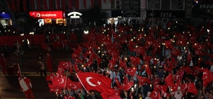 Erzurum'da 15 Temmuz Demokrasi ve Milli Birlik Günü coşkusu