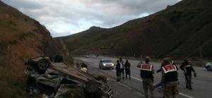 Erzincan'da kaza: 1 ölü, 1 yaralı
