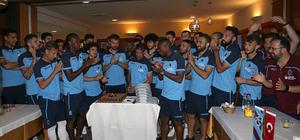 Luis Ibanez'e doğum günü kutlaması
