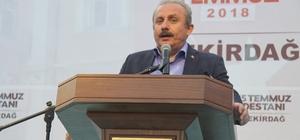 """15 Temmuz'un 2. yılında Meclis Başkanvekili Mustafa Şentop yaşadıklarını anlattı """"Cumhurbaşkanımız, 'Bunlara pabuç bırakmayalım' dedi"""""""