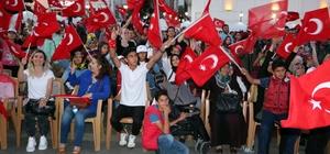 Yozgat'ta 15 Temmuz Demokrasi ve Milli Birlik Günü kutlandı