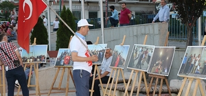 İHA'nın 15 Temmuz sergisi Safranbolu'da ilgiyle karşılandı Safranbolu'da 15 Temmuz anma etkinlikleri
