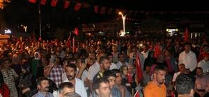 15 Temmuz Şehitlerini Anma Demokrasi Ve Milli Birlik Gününde Erciş Tek Yürek