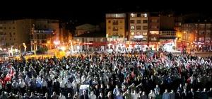 """Vali Toprak: """"15 Temmuz öncesinden daha güçlüyüz"""" Hakkari'de 15 Temmuz demokrasi ve milli birlik günü"""