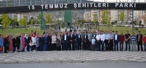 """Ak Parti İlçe Başkanı Mesut Çetin """"unutmadık, unutmayacağız, unutturmayacağız  ki bir daha yaşanmasın"""""""