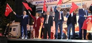 Kütahyalılar, 15 Temmuz'un ikinci yıl dönümünde Zafer Meydanı'na akın etti