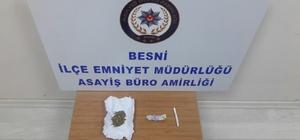 Besni'de polis uyuşturucuya geçit vermiyor