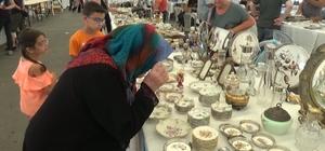 Bursa'nın antikaları görücüye çıktı Bursa antika pazarına 40 vilayetten ziyaretçi akını