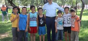 Nevşehir'de parklar güvenlik kameralarıyla takip ediliyor Çocuklar güvenlik kameraları ile parklarda daha huzurlu oyunlar oynayabiliyor