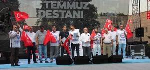"""Memur Sen Kayseri Başkanvekili İrfan Kaşıkçıoğlu: """"İşgal girişimini devletin her kademesinde kök salmışlara karşı koyduğumuz bir gecedir"""""""