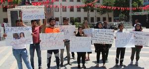 Malatya'da 'çocuk istismarı ve cinayetlerine' tepki yürüyüşü