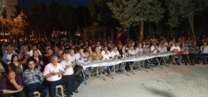 Nurdağı'nda 15 Temmuz Şehitleri bir kez daha anıldı.