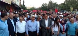 Rektör  Karacoşkun 15 Temmuz kutlamalarına katıldı
