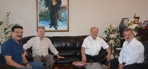 Başkan Özakcan'dan güven tazeleyen Çetindoğan'a ziyaret